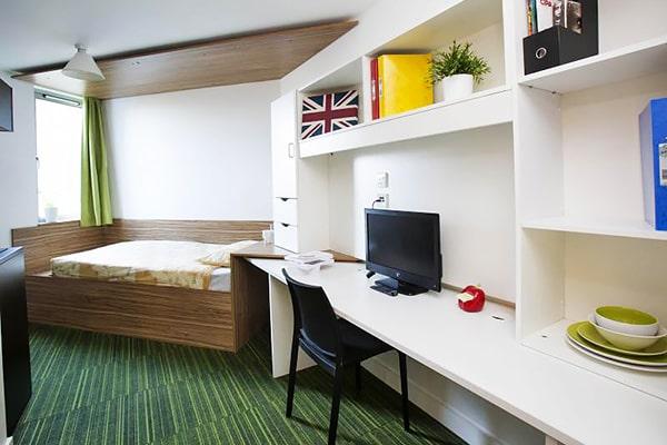 Alojamiento escuela de inglés  Frances King School of English London: Residencia The Curve 3