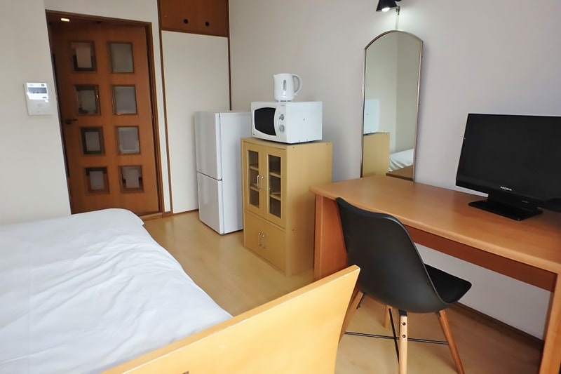 Alojamiento escuela de japonés GenkiJACS Fukuoka | Genki Japanese & Culture School: Apartamento privado