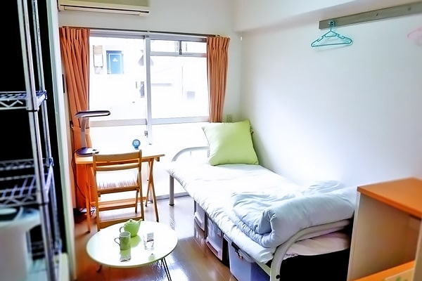 Alojamiento escuela de japonés GenkiJACS Fukuoka | Genki Japanese & Culture School: Residencia privada 1