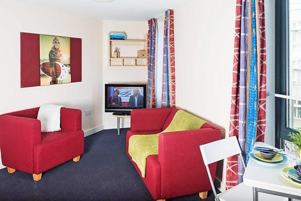 Alojamiento escuela de inglés Global School of English Edinburgh: Residencia McDonald Road 2