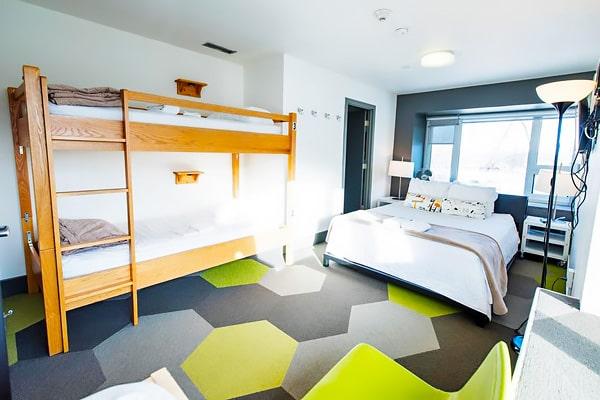 Alojamiento escuela de inglés Global Village Calgary: Hostel céntrico HI Calgary 4