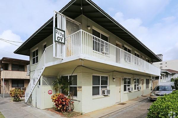 Alojamiento escuela de inglés Global Village Hawaii: Residencia GVH Kapiolani 1