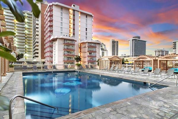 Alojamiento escuela de inglés Global Village Hawaii: Apartamentos Island Colony Condos 3