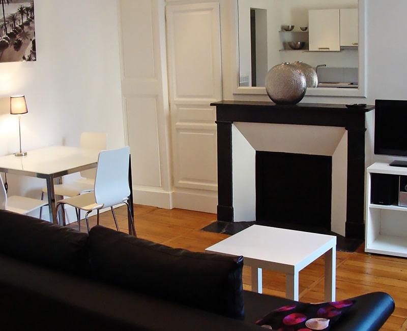 Alojamiento escuela de francés Institut de Touraine: Apartamento