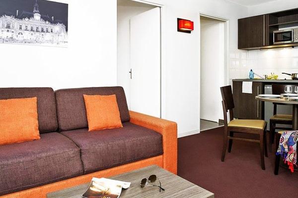 Alojamiento escuela de francés Institut de Touraine: Residencia privada 3
