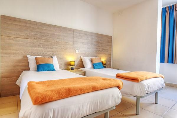 Alojamiento escuela de inglés LAL Sliema: Howard Hotel Room 4