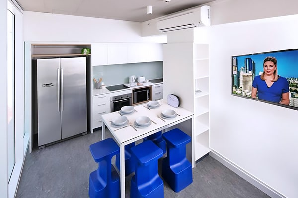 Alojamiento escuela de inglés Lexis English Brisbane: Residencia Student One Elizabeth Street 2
