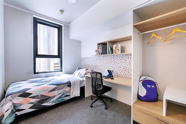 Alojamiento escuela de inglés Lexis English Brisbane: Residencia Student One Elizabeth Street 4