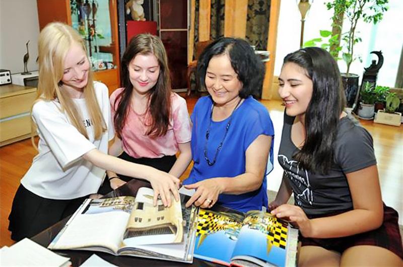 Alojamiento escuela de coreano Lexis Korea Busan: Familia coreana