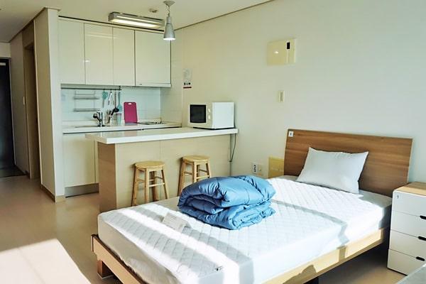 Alojamiento escuela de coreano Lexis Korea Busan: Residencia de estudiantes Lexis 1