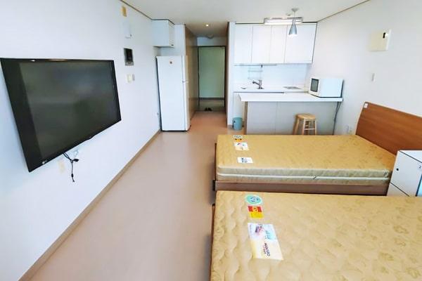 Alojamiento escuela de coreano Lexis Korea Busan: Residencia de estudiantes Lexis 5