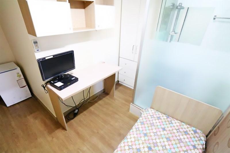 Alojamiento escuela de coreano Lexis Korea Busan: Mini estudio