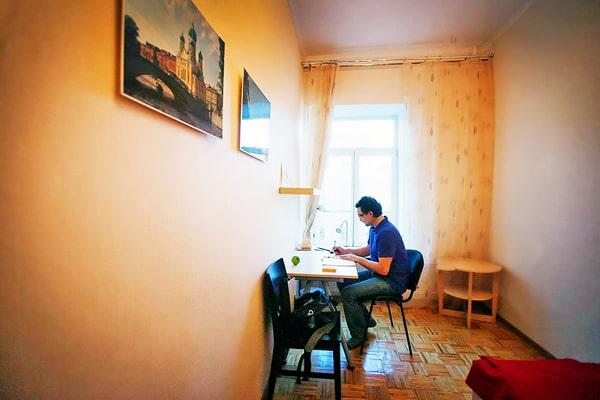 Alojamiento escuela de ruso Liden & Denz St. Petersburg: Apartamento compartido 5