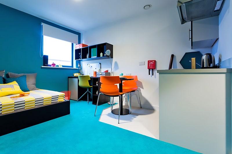 Alojamiento escuela de inglés LILA Liverpool: Residencia centro ciudad