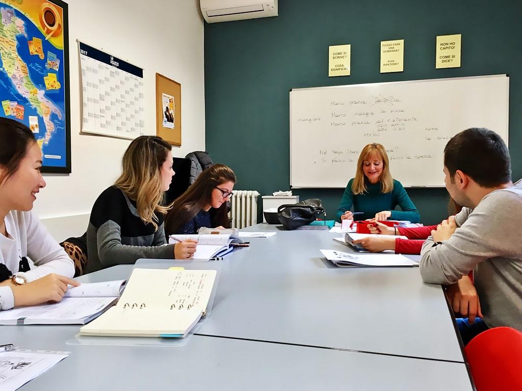 Escuela de italiano en Milán | Linguadue Milano 1