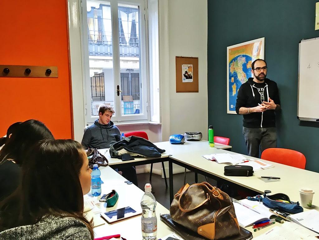 Escuela de italiano en Milán | Linguadue Milano 10
