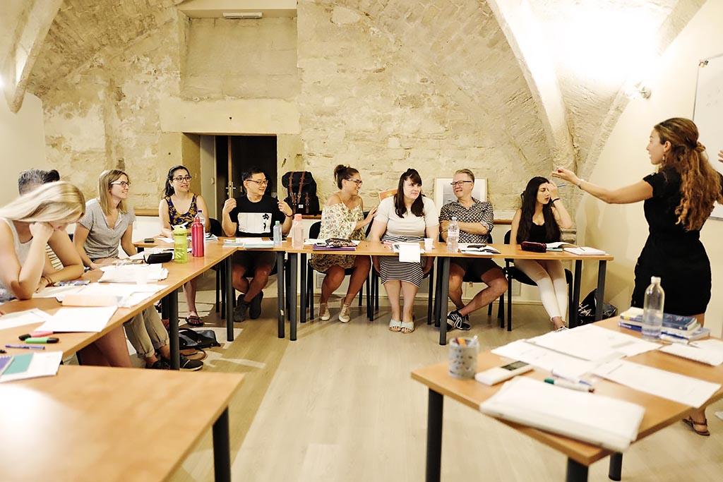 Escuela de francés en Montpellier   LSF Montpellier Learn French in the south of France 1