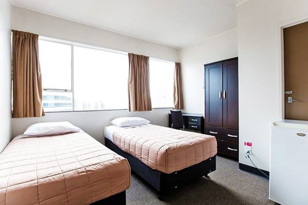 Alojamiento escuela de inglés LSI Auckland | Language Studies International: Residencia YMCA 2