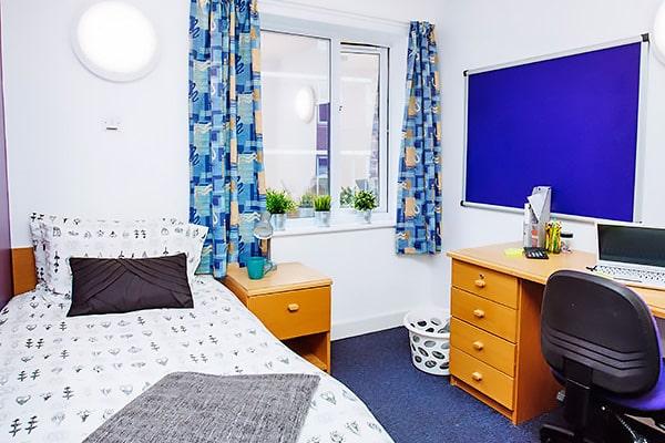 Alojamiento escuela de inglés Meridian School of English Portsmouth: Residencia Harry Law Hall 1