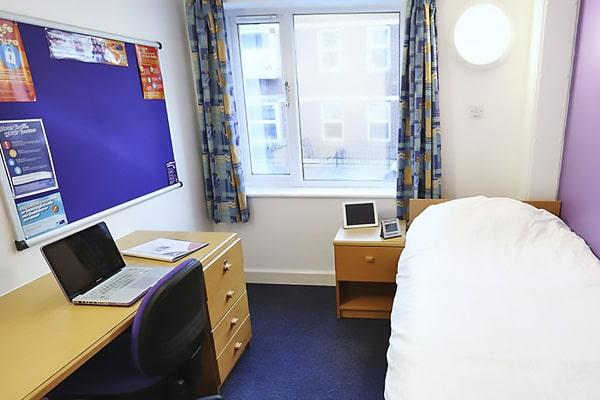 Alojamiento escuela de inglés Meridian School of English Portsmouth: Residencia Harry Law Hall 4