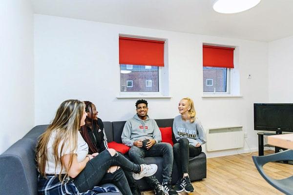 Alojamiento escuela de inglés NCG Liverpool   New College Group: Residencia Residential Hall 3