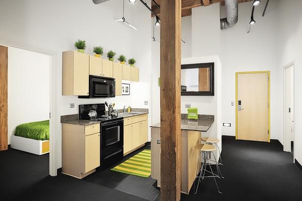 Alojamiento escuela de inglés Stafford House Chicago: Residencia Automatic Lofts 1