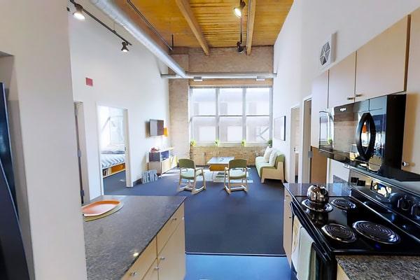 Alojamiento escuela de inglés Stafford House Chicago: Residencia Automatic Lofts 2