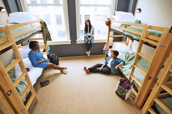 Alojamiento escuela de inglés Stafford House Chicago: Residencia Hostelling International 2
