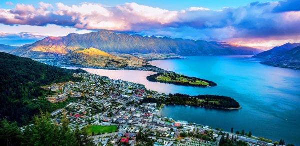 Cursos de inglés en Nueva Zelanda