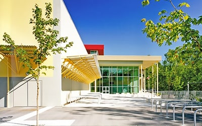 Colegio público Burnaby Mountain Secondary School, British Columbia