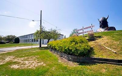 Colegio público Burnaby North Secondary School en Burnaby, British Columbia