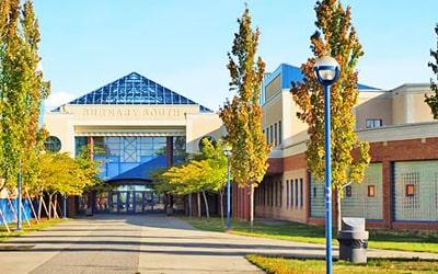 Colegio público Burnaby South Secondary School en Burnaby, British Columbia