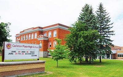 Colegio público Carleton Place School en Carleton Place, Ontario