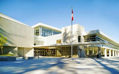 Colegio público Heritage Woods Secondary School en Port Moody, British Columbia