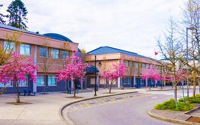 Colegio público Riverside Secondary School en Port Coquitlam, British Columbia