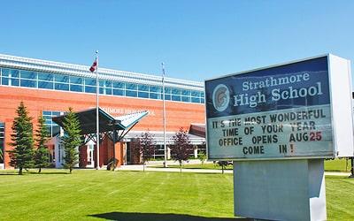 Colegio público Strathmore High School en Strathmore, Alberta