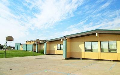 Colegio público Three Hills School en Three Hills, Alberta
