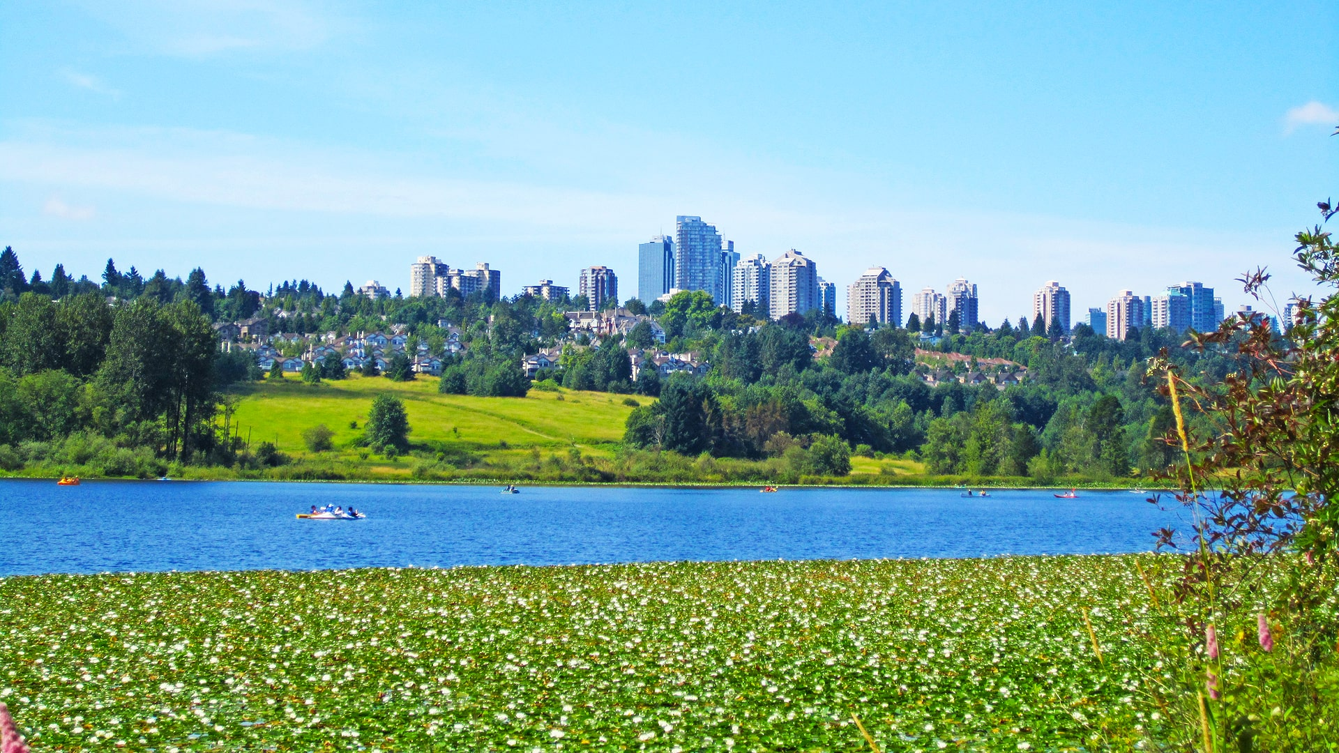 Estudiar un año escolar en colegios públicos de Burnaby School District en British Columbia, Canadá