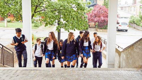 Año escolar en Canadá en el colegio privado Hudson College Toronto