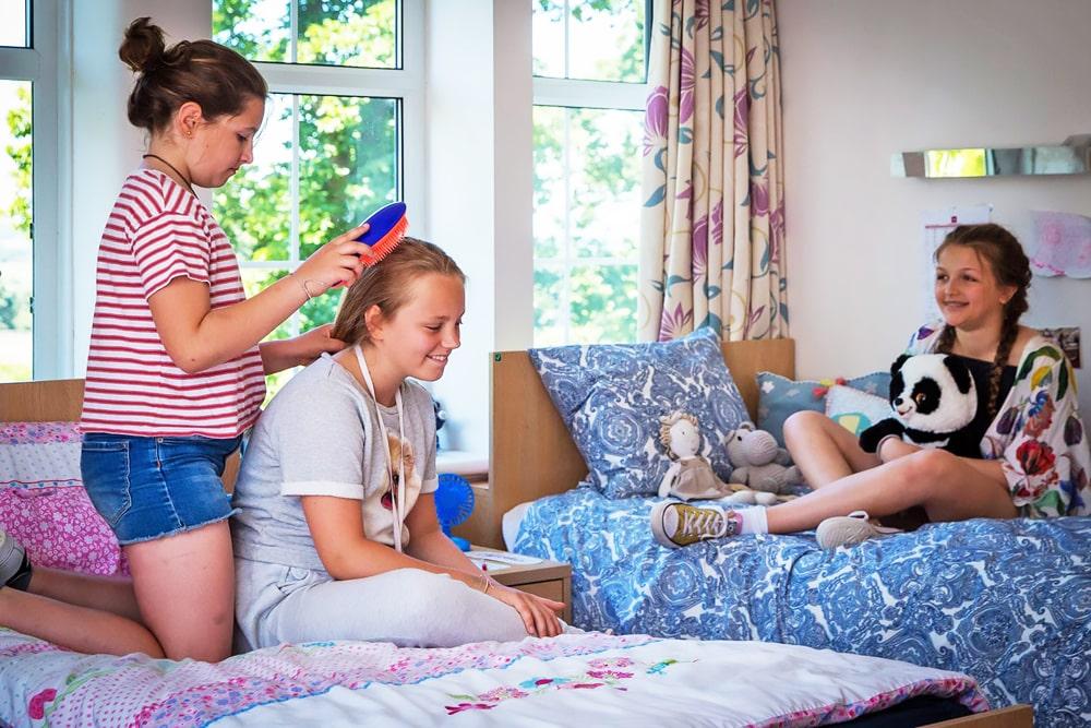 Alojamiento del año escolar en el internado para chicas Queenswood School