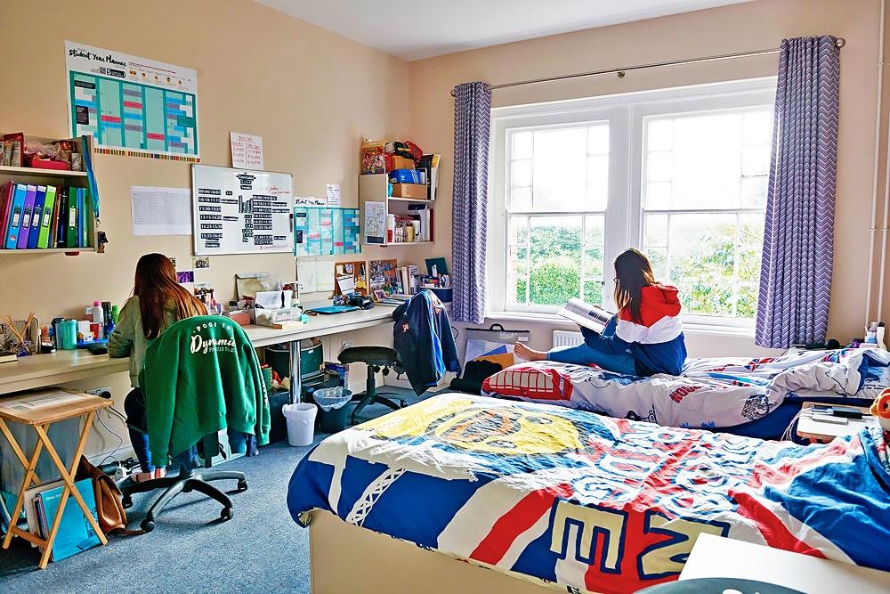 Alojamiento en internado público en Inglaterra