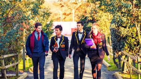 Año escolar en Inglaterra en el internado privado Buckswood School