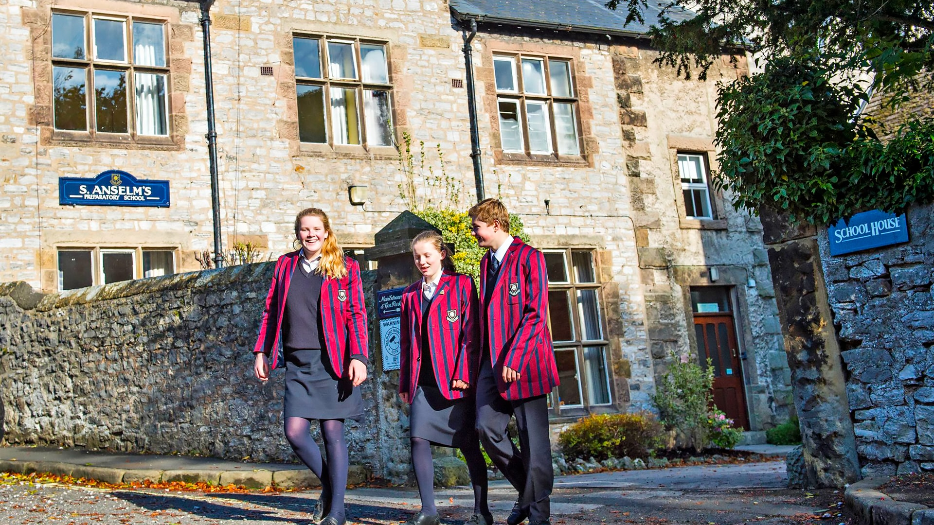 Internado año escolar en Inglaterra S. Anselm's Prep School