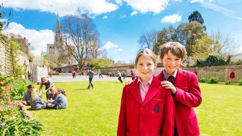 Año escolar en Inglaterra en el internado privado The Prebendal School