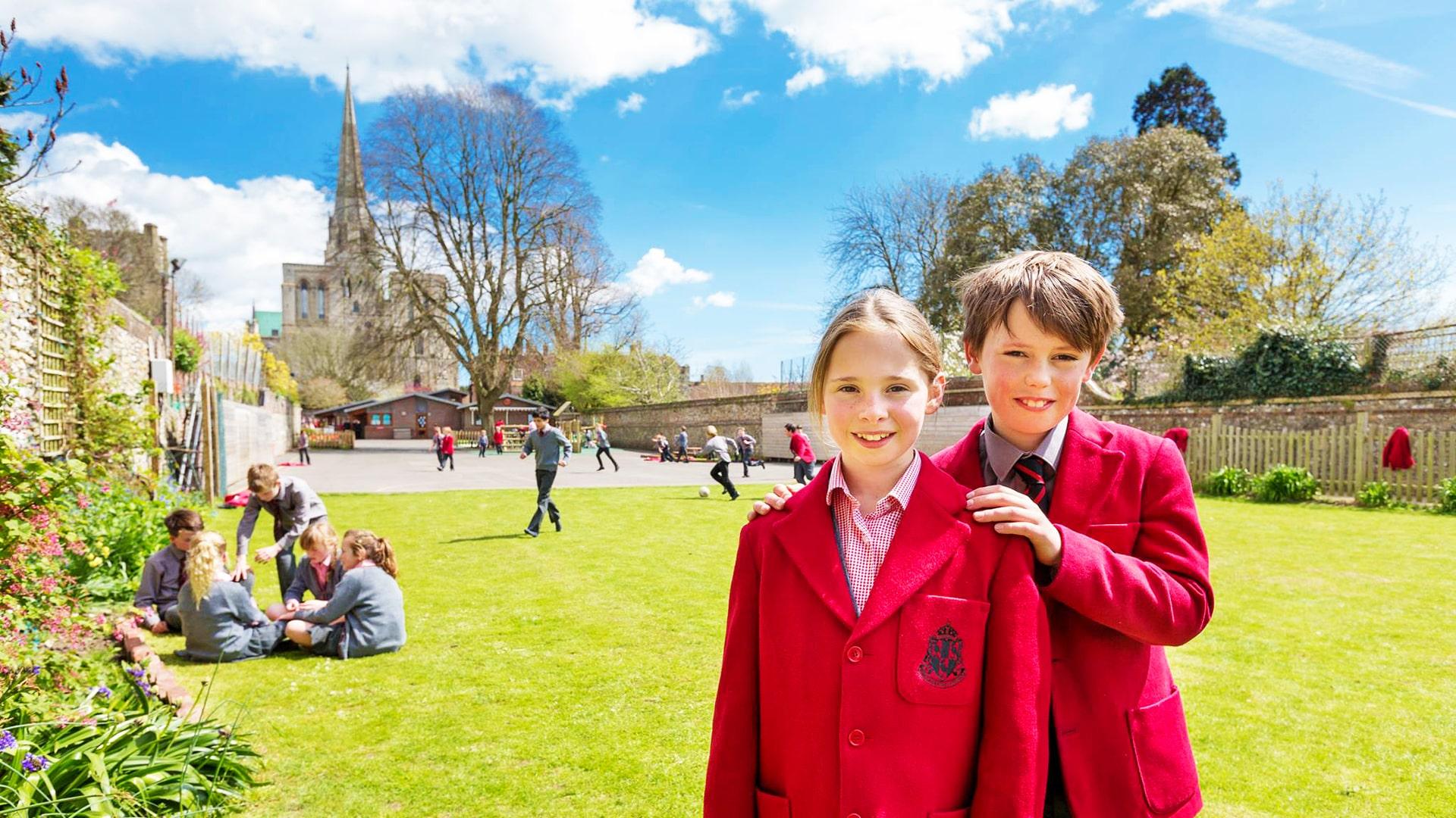 Internado año escolar en Inglaterra The Prebendal School