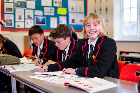 Internado en Inglaterra Lucton School