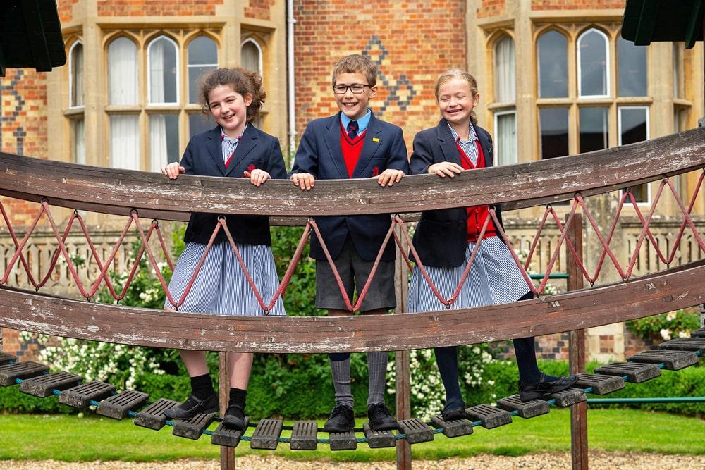 Supervisión del año escolar en el internado Bilton Grange Preparatory School