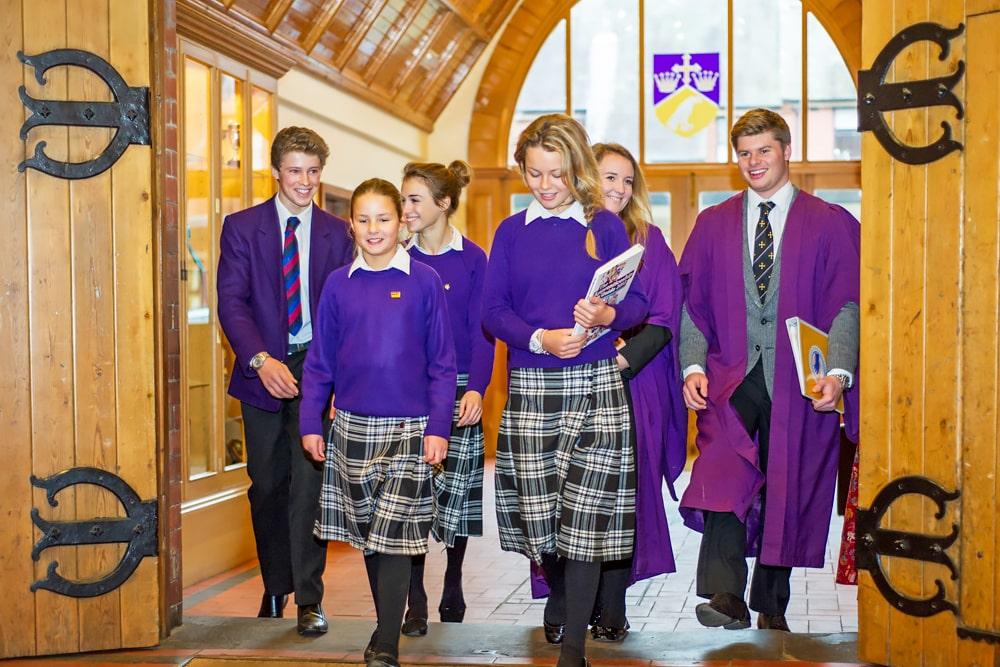 Supervisión del año escolar en el internado Ellesmere College