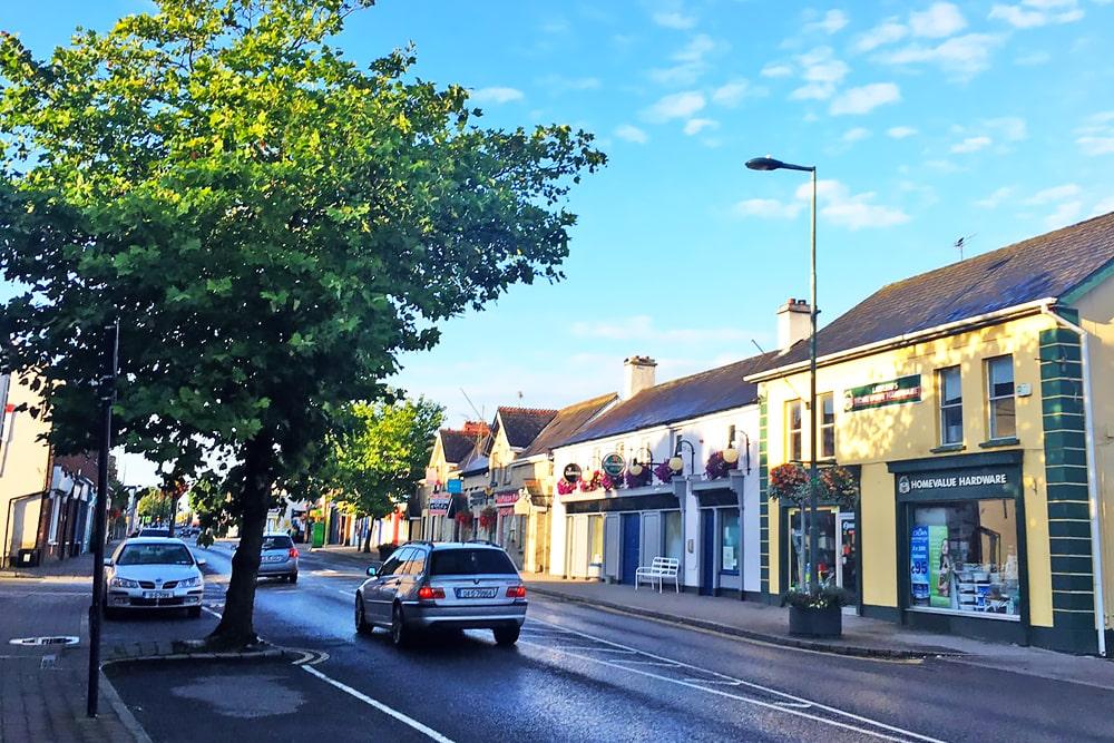 Año escolar en Dunshaughlin co. Meath, Irlanda
