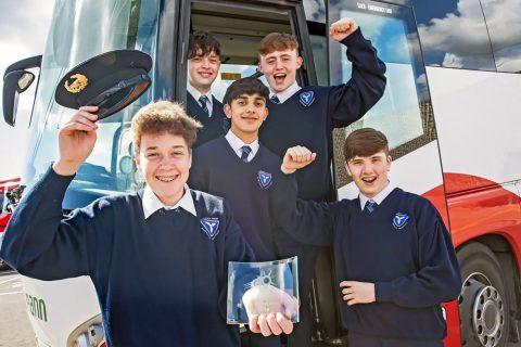Colegio año escolar Dunshaughlin Community College, Irlanda